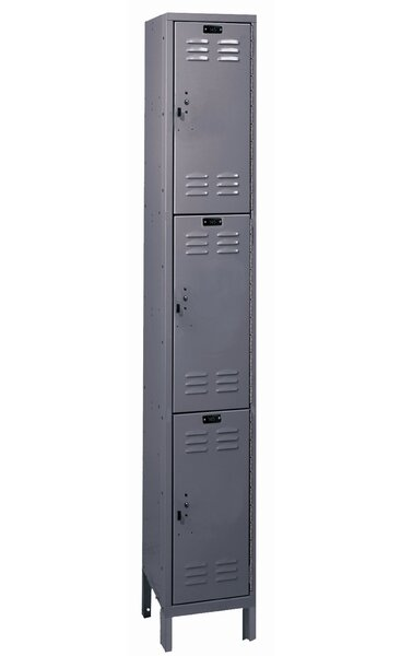ValueMax 3 Tier 1 Wide School Locker by Hallowell