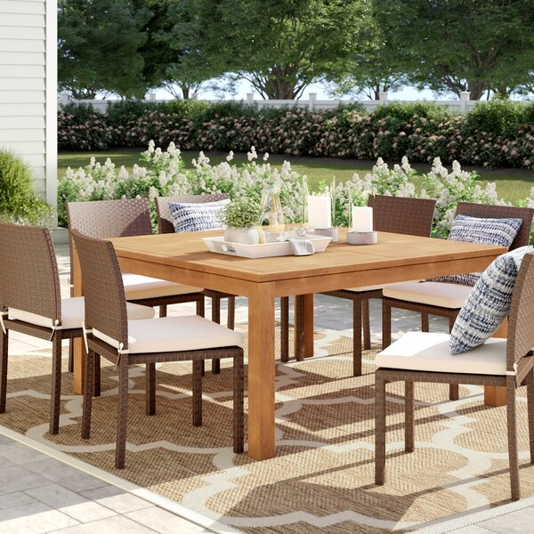 Brighton Teak Dining Table By Sol 72 Outdoor by Sol 72 Outdoor 2020 Coupon
