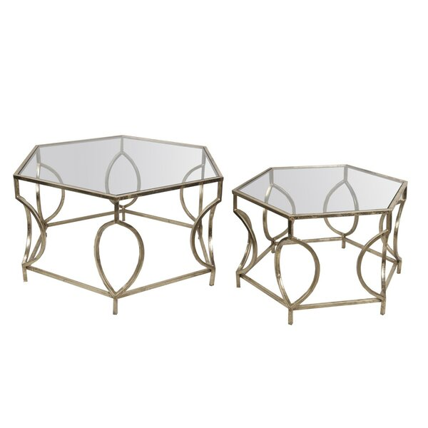 2 Piece Coffee Table Set by Privilege