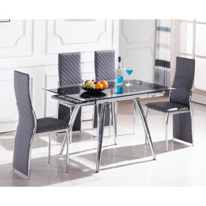 Boothe 5 Piece Dining Set
