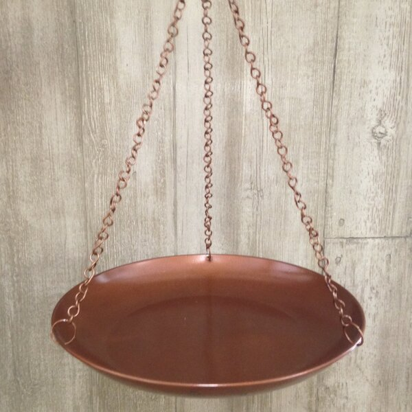 Coated Hanging Birdbath by Pomegranate Solutions, LLC