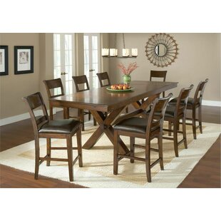 Captivating Fernson 9 Piece Counter Height Dining Set