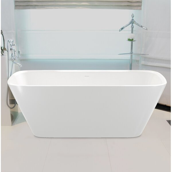 Arabella 68.5 x 30.25 Soaking Bathtub by Aquatica