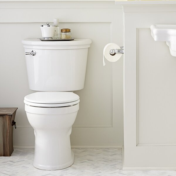 Retrospect Champion Pro Right Height 1.28 GPF Round Two-Piece Toilet by American Standard