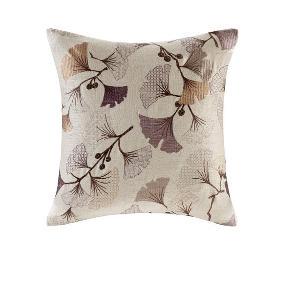 Carollo Bloom Embroidered Throw Pillow by Latitude Run