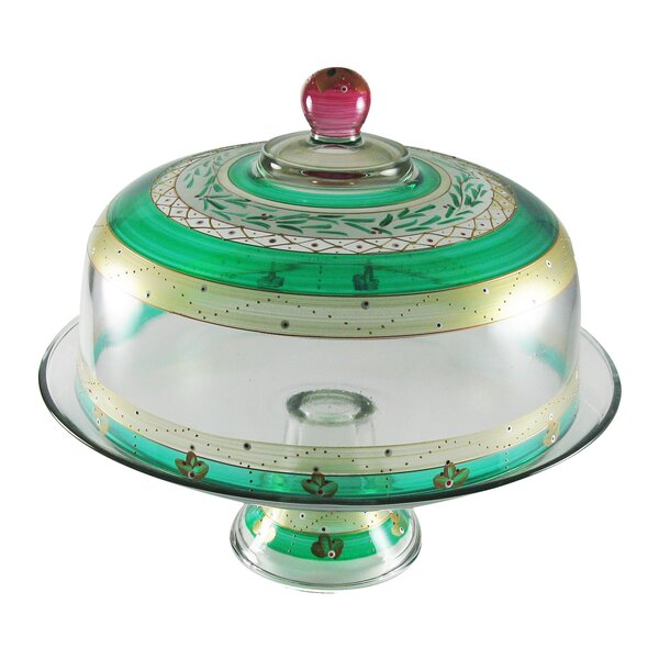 Christmas Garland Cake Stand by Golden Hill Studio