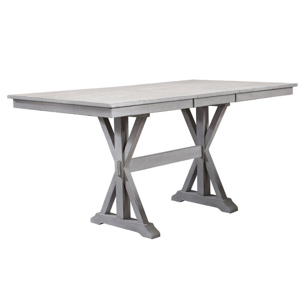 Clennell Counter Height Drop Leaf Dining Table by Gracie Oaks