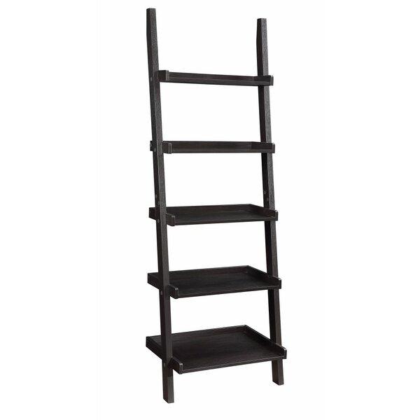 Holbert Sleek Wooden Ladder Bookcase By Winston Porter