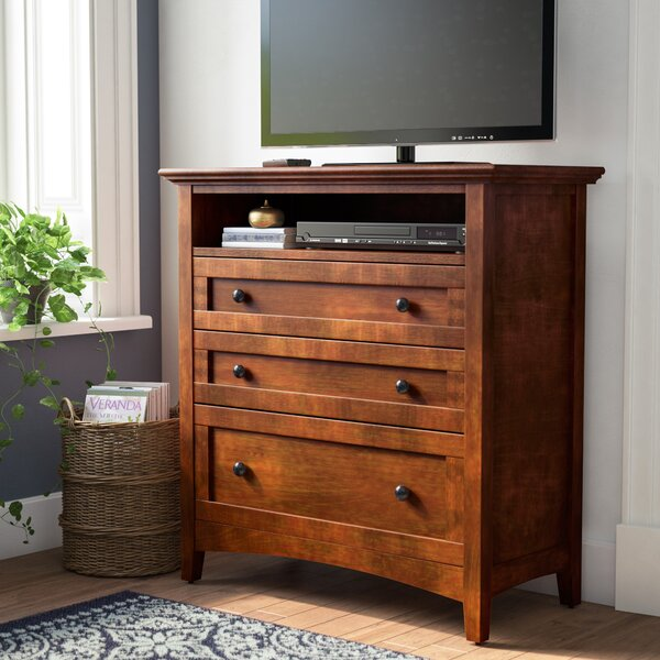 Barstow 3 Drawer Media Chest by Darby Home Co