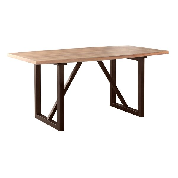 Clogh Trestle Dining Table by Gracie Oaks