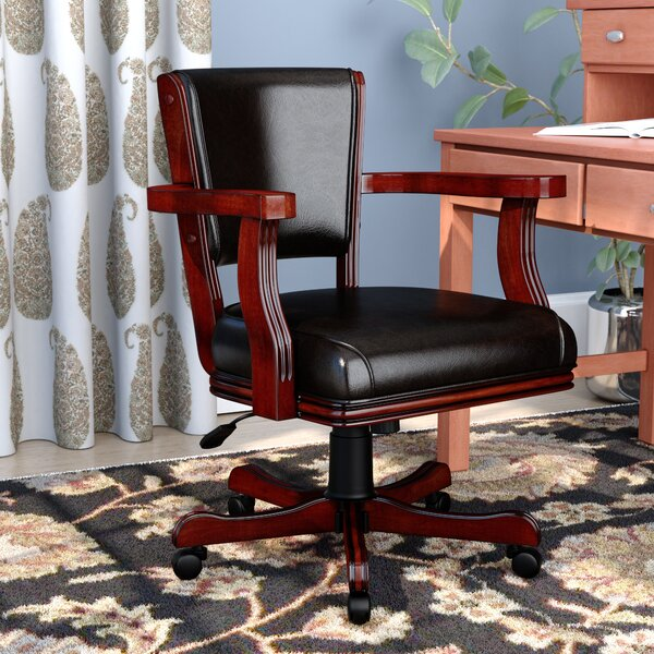 Aniyah Bankers Chair by World Menagerie