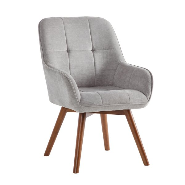 Curtsinger Upholstered Dining Chair by George Oliver George Oliver