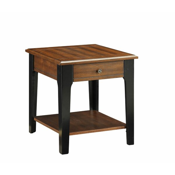 Howington End Table with Storage by Red Barrel Studio