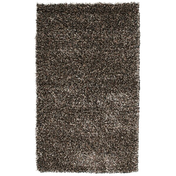 Sheen Black/Ivory Rug by Noble House