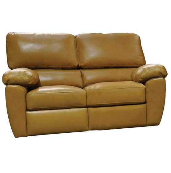 Vercelli Reclining Loveseat By Omnia Leather