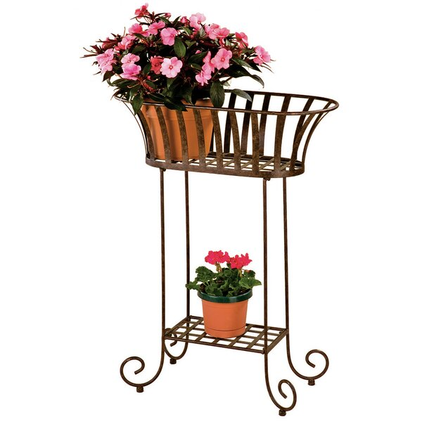 Solera Oval Plant Stand by Deer Park Ironworks