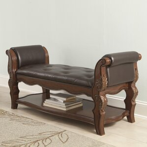 Carnearney Upholstered Bench by Astoria Grand