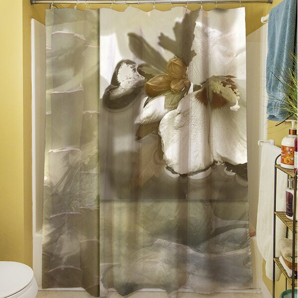 Natural Elements II Shower Curtain by Manual Woodworkers & Weavers