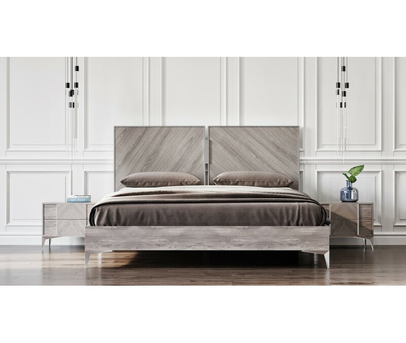 Labombard Modern 5 Piece Platform Bedroom Set