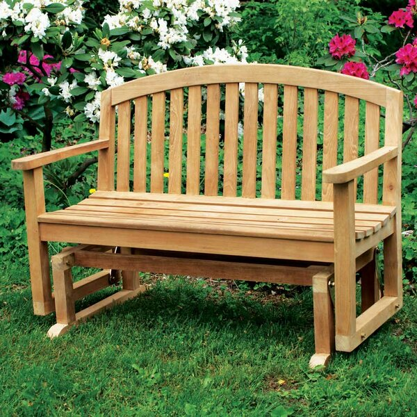 Fanback Teak Garden Bench by Jewels of Java
