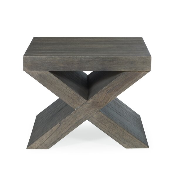 Irving Bunching End Table by Bernhardt