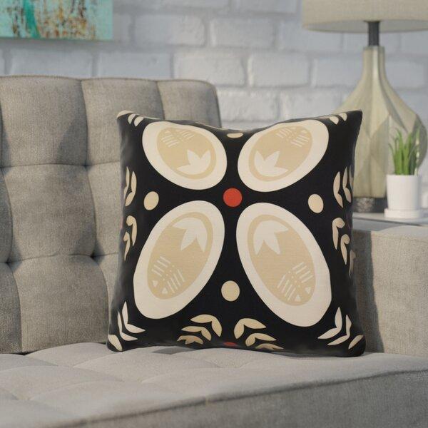 Mazee Decorative Holiday Geometric Print Throw Pillow by Ivy Bronx