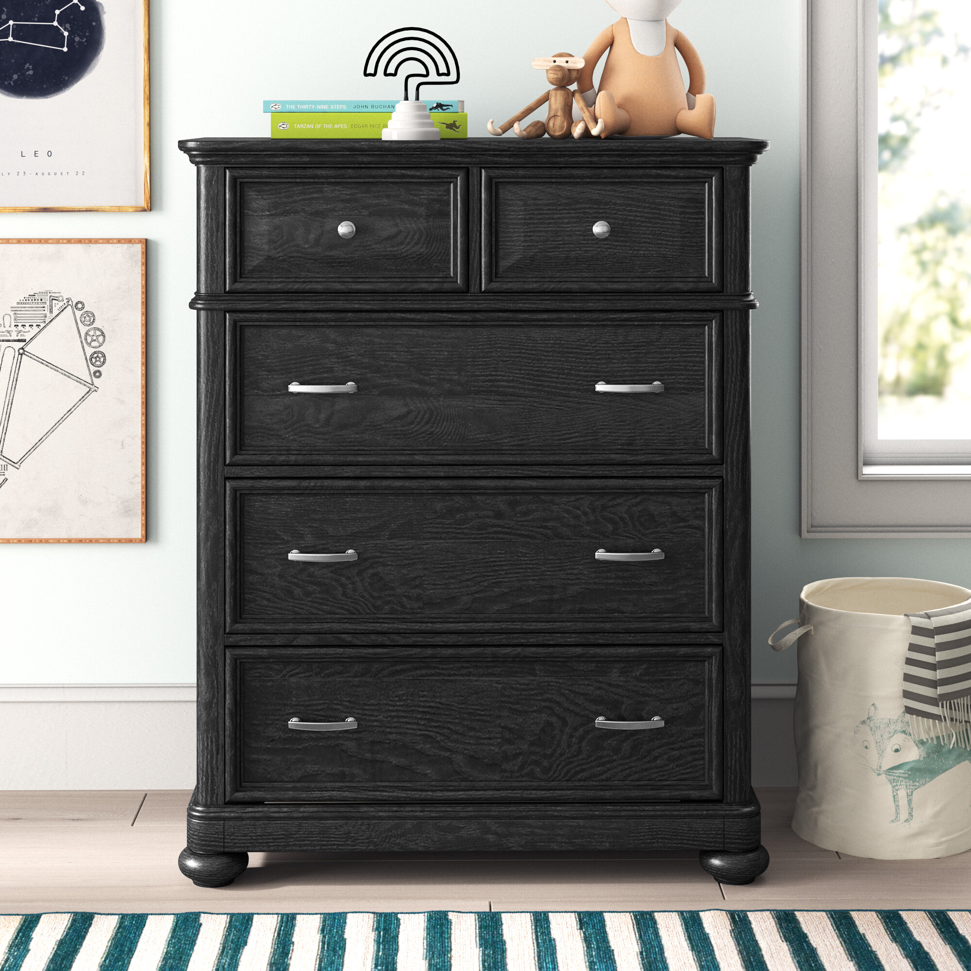Milo Rundberg Kids 5 Drawer Chest