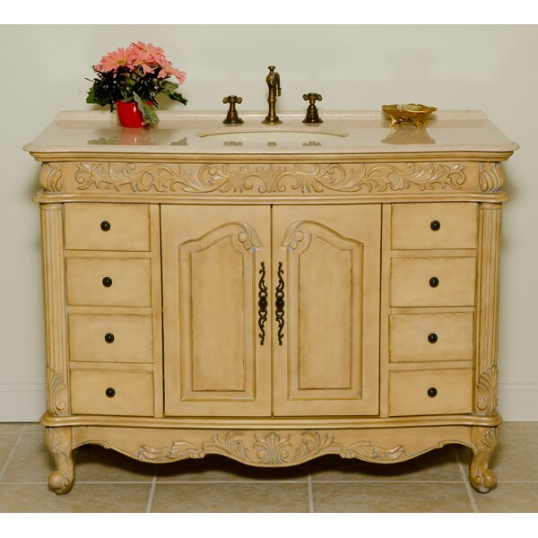 Hillsdale 48 Single Bathroom Vanity Set by B&I Direct Imports