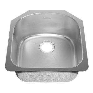 Prevoir 20.63 L x 19.88 W Undermount Single Bowl Kitchen Sink by American Standard
