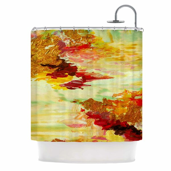 On Cloud Nine 5 by Ebi Emporium Shower Curtain by East Urban Home