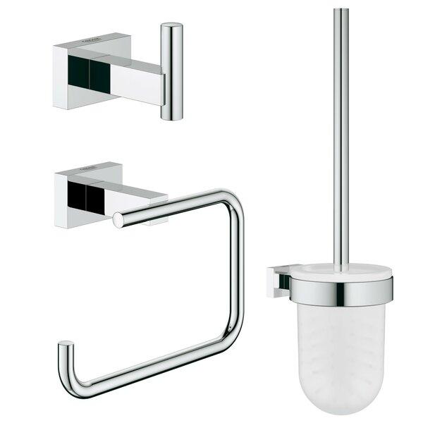Essentials 3 Piece Bathroom Hardware Set by Grohe