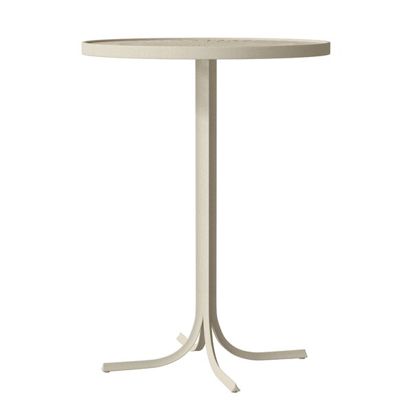 LaStratta Metal Bar Table by Tropitone