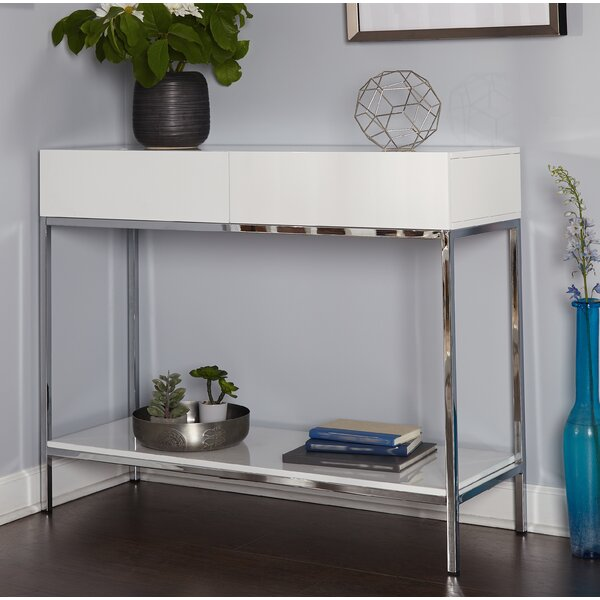 Woodway Console Table by Orren Ellis