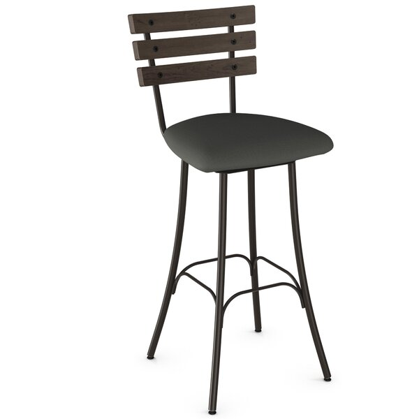 Rachelle 30.75 Swivel Bar Stool by Trent Austin Design