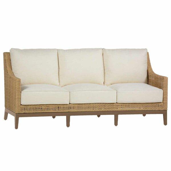 Peninsula Patio Sofa with Cushions by Summer Classics Summer Classics