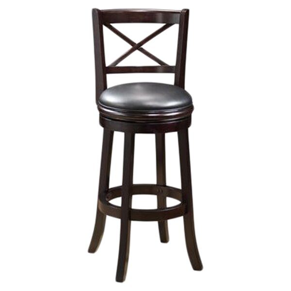 Fairdale 29 Swivel Bar Stool by Three Posts