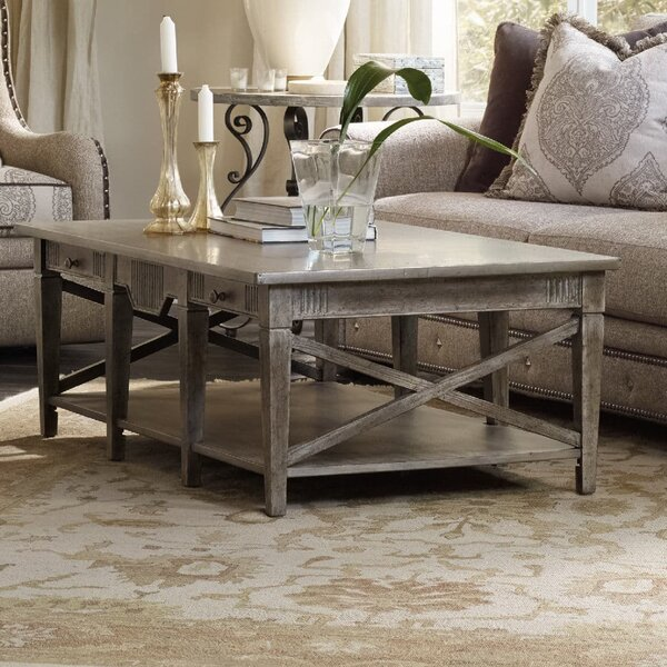 True Vintage Coffee Table with Storage by Hooker Furniture