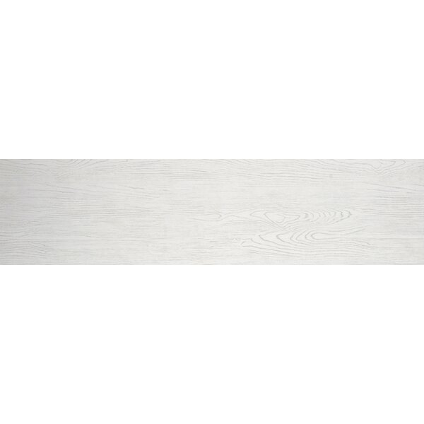 Alpine 6 x 36 Porcelain Wood-Look Plank Tile in Vanilla by Emser Tile