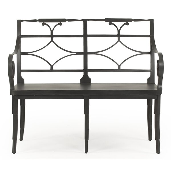 Otha Iron Garden Bench by Bloomsbury Market