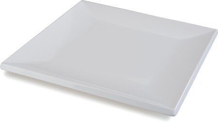 Halcyon Square Rim Melamine Platter (Set of 12) by Carlisle Food Service Products
