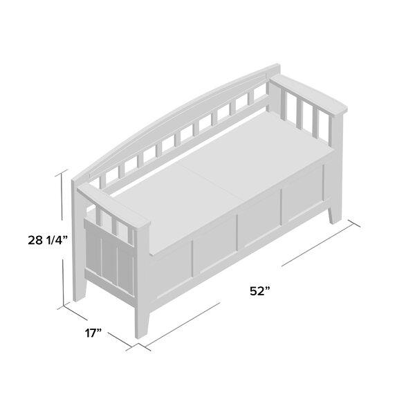 Apruva Storage Bench by Gracie Oaks