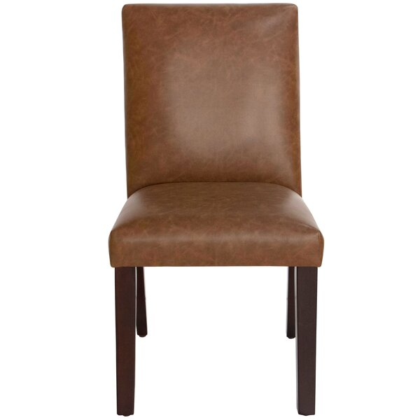 Harrison Leather Upholstered Dining Chair by Skyline Furniture