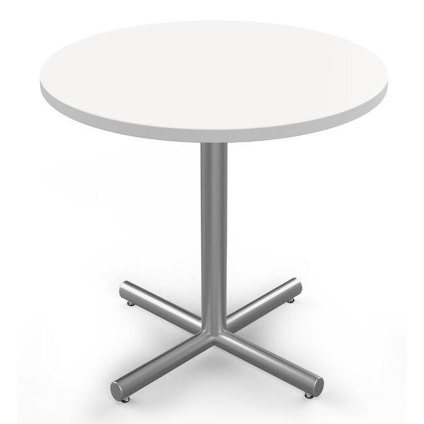 Round Sustainable Furniture Multi-Use Laminate Table by Baltix
