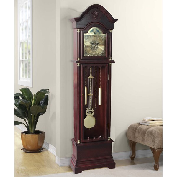 72 Floor Standing Grandfather Clock by Astoria Grand