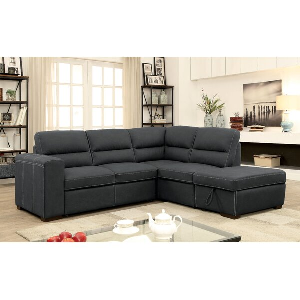 Loews Sectional with Ottoman by Winston Porter