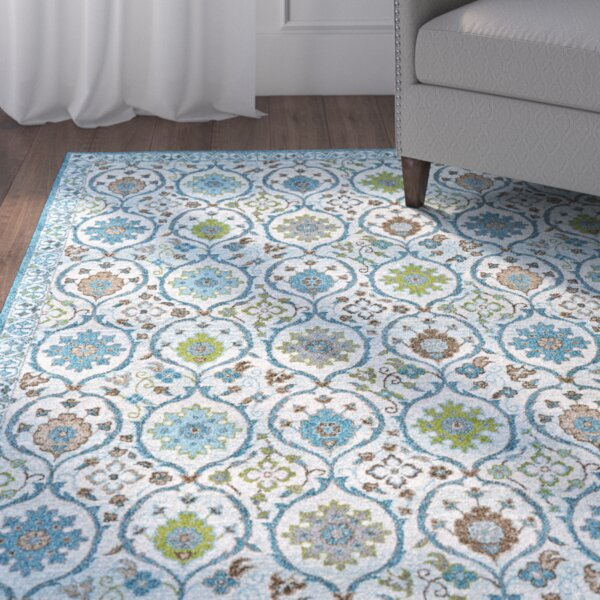Colegrove Blue Area Rug by Charlton Home