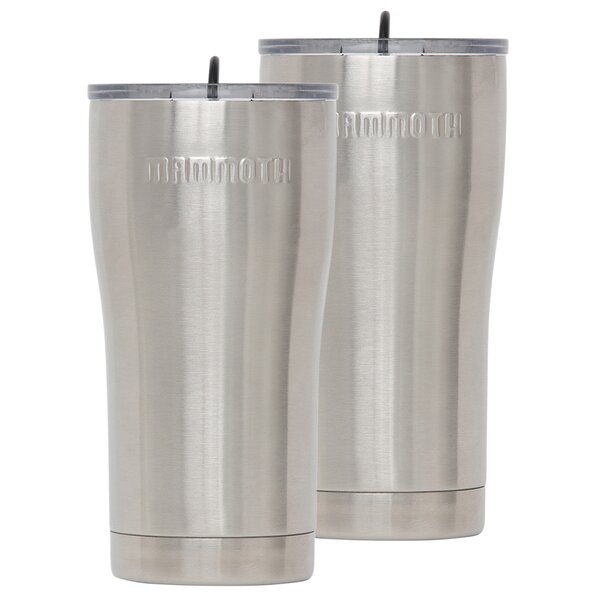Rover 20 oz. Stainless Steel Travel Tumbler (Set of 2) by Mammoth Cooler