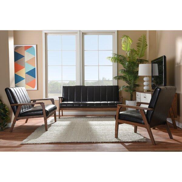 Kinley 3 Piece Living Room Set