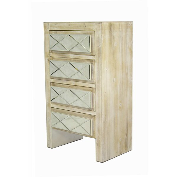 Harriotte 4 Drawer Accent Chest by House of Hampton