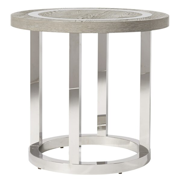 Vighnesh End Table by Orren Ellis Orren Ellis